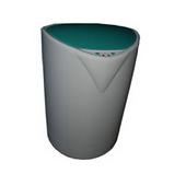 塑料垃圾桶QLS021
