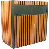 不锈钢垃圾桶GLBX007