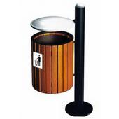 不锈钢垃圾桶GLBX013