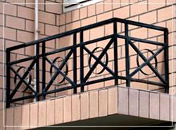 空调阳台护栏