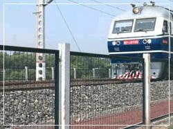 城市铁路护栏
