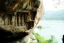 夹江千佛岩:佛陀 从巴蜀走过