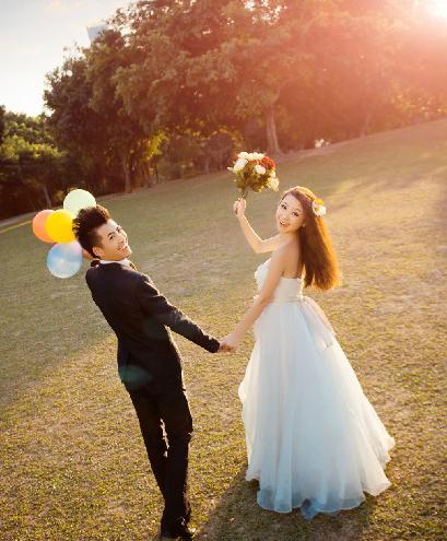教你拍出自然完美的婚纱照