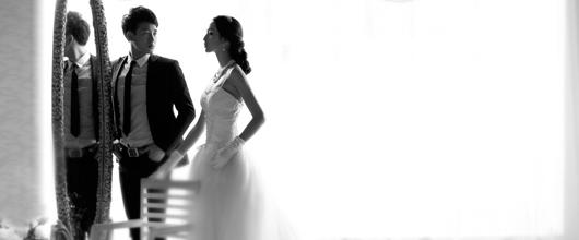 不一样的婚纱照
