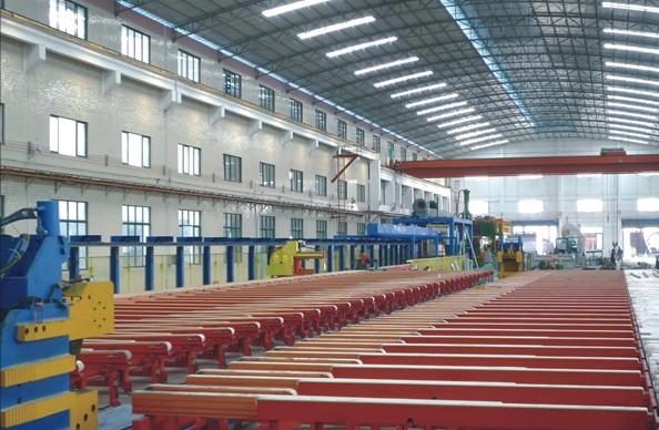 500-2000吨毛毡皮带式生产线